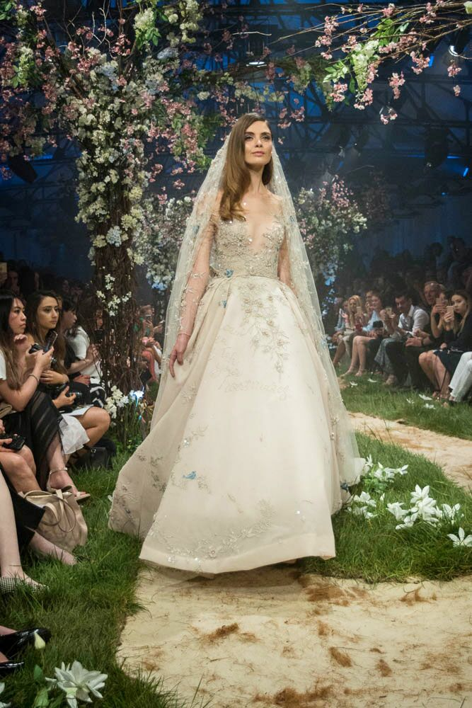 Paolo Sebastian Disney gowns embellished gown