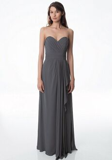 Bill Levkoff 978 V-Neck Bridesmaid Dress