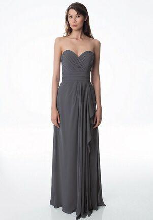 Bill Levkoff 978 V-Neck Bridesmaid Dress