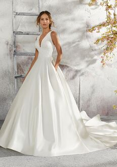Morilee by Madeline Gardner/Blu 5684 / Laurie Ball Gown Wedding Dress