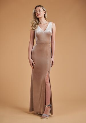 B2 Bridesmaids by Jasmine B223067 V-Neck Bridesmaid Dress