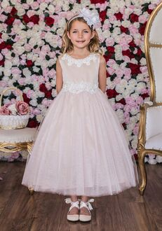 Kid's Dream 458 Ivory Flower Girl Dress