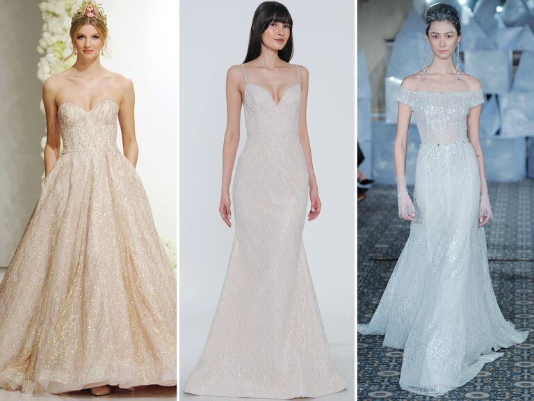 Wedding Dresses With Sparkle