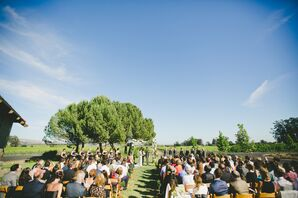 Etude Winery Outdoor Ceremony