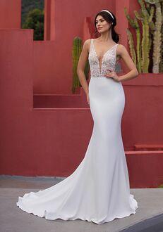WHITE ONE TWINLEAF Mermaid Wedding Dress