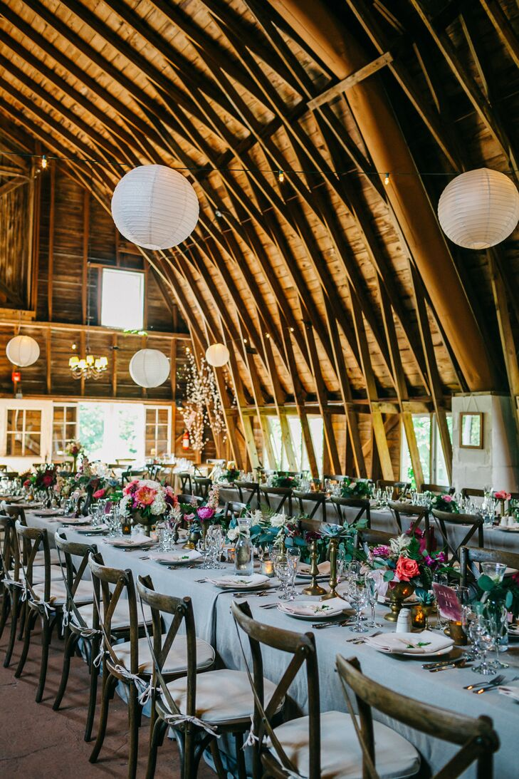The Blue Dress Barn Reception
