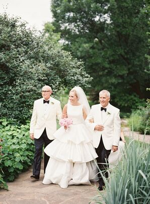 Vintage-Inspired Wedding Gown