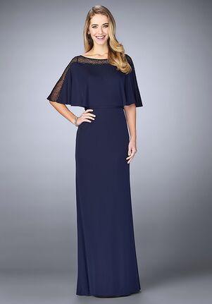 La Femme Evening 23113 Blue Mother Of The Bride Dress
