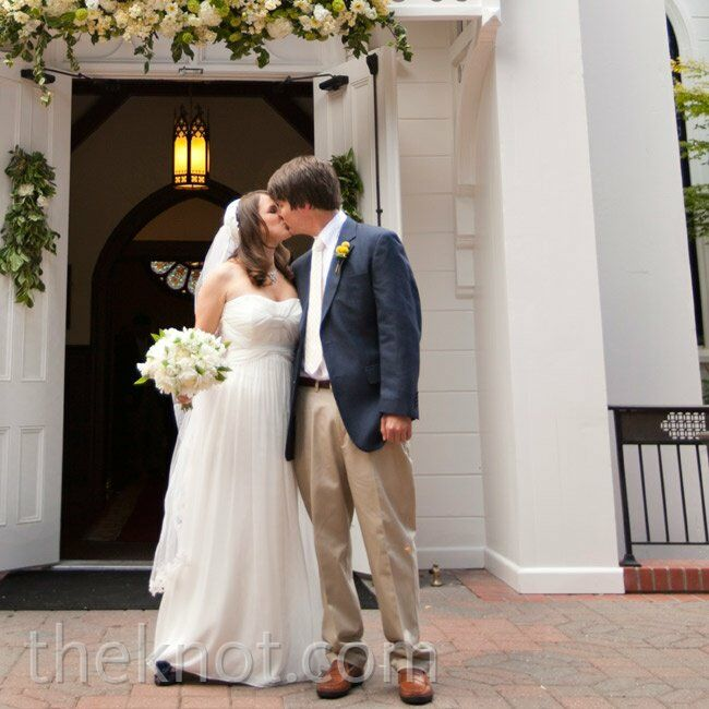 The Bride Melissa Cattaneo, 30, owner of Hip Pops, a popsicle company in Georgia The Groom  George Fontaine, 30, marketing and A&R director at New Wes
