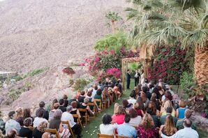 Outdoor Palm Springs Ceremony