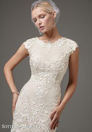Sottero and Midgley Suzanne Rose Sheath Wedding Dress