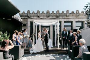 Outdoor Rooftop Ceremony