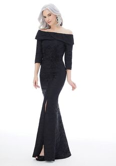 MGNY 72236 Black Mother Of The Bride Dress