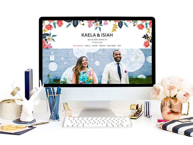 The Knot Wedding Website Template