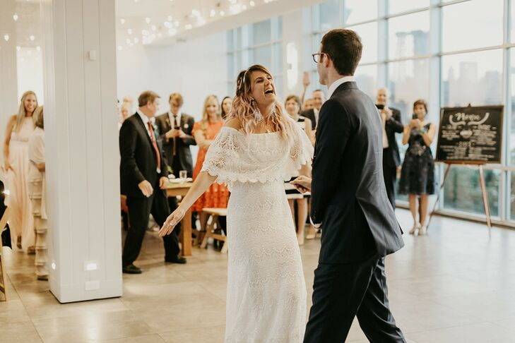 First Dance at the W Loft in Brooklyn, New York