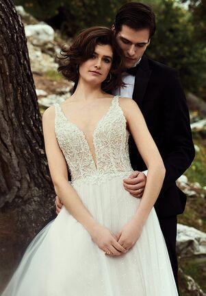 Justin Alexander Adelise A-Line Wedding Dress