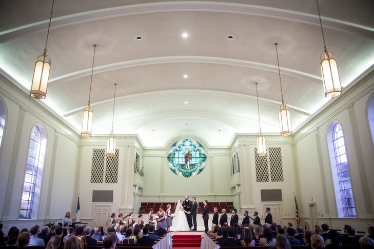 Westminster Presbyterian Church Wedding Ceremony