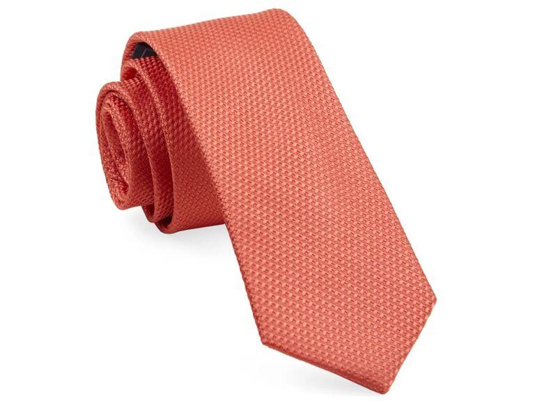 Coral grenafaux tie