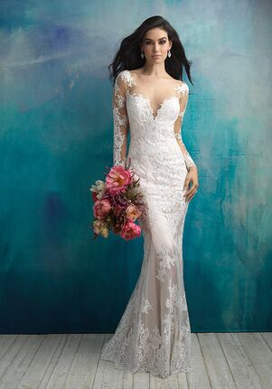 Allure Bridals 9506 Sheath Wedding Dress