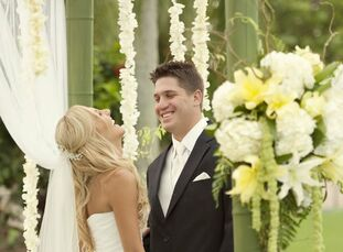 The Bride Lauren Pezza, 26, a kindergarten teacher The Groom James DeSantis, 28, a business sales consultant The Date May 14  Knowing they wanted a we