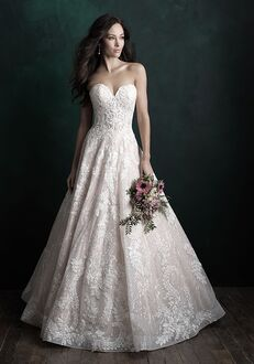 Allure Couture C501 Ball Gown Wedding Dress