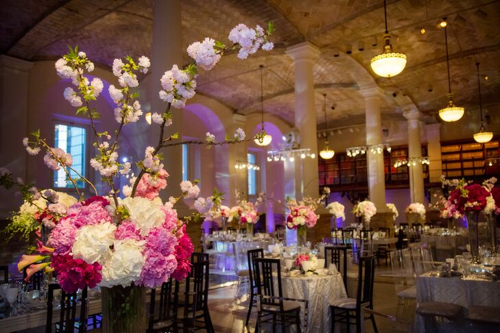 Boston Public Library Wedding.Guastavino Room Boston Public Library Wedding Reception
