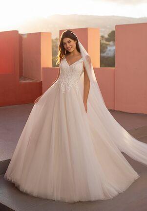 WHITE ONE ESSENTIALS OTHENIA Ball Gown Wedding Dress