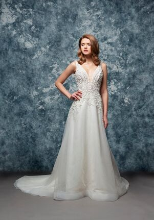 Enaura Bridal Couture EF801-Ren A-Line Wedding Dress