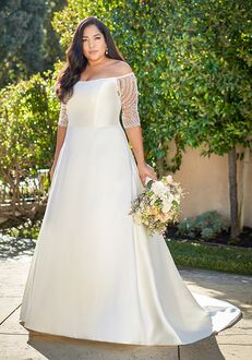 Jasmine Bridal F221057N A-Line Wedding Dress