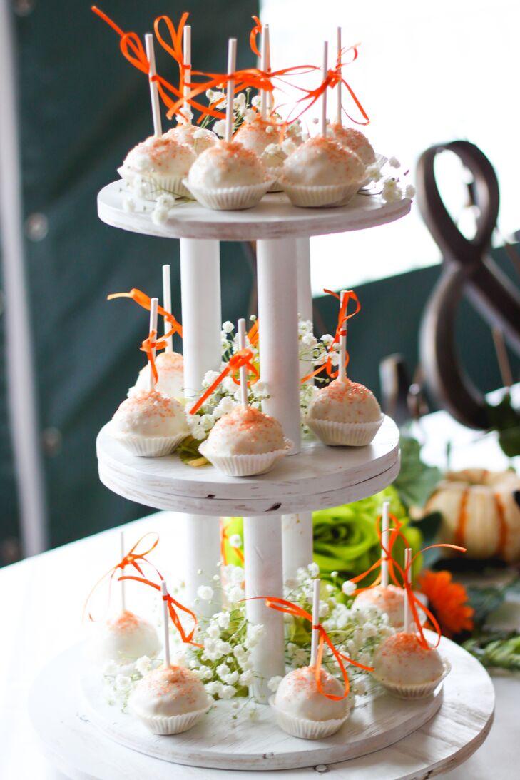 Orange Sugar-Dusted Cake Balls