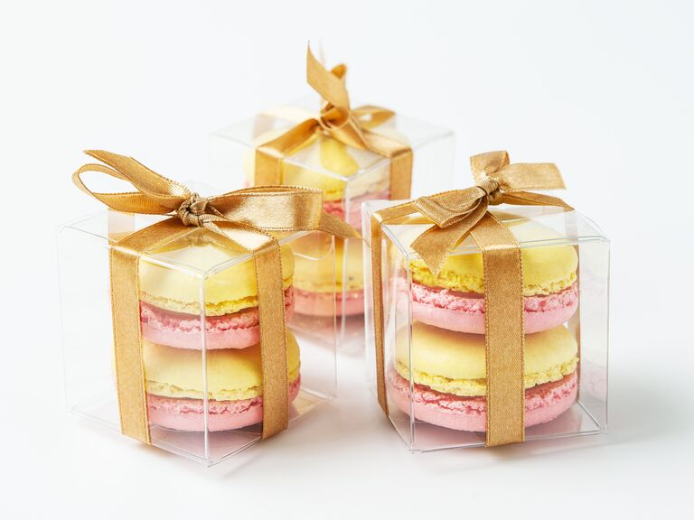 Woops! macarons for a wedding favor idea