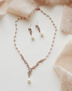 Dareth Colburn Primrose Jewelry Set (JS-1691) Wedding Necklace photo
