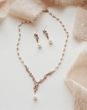 USABride Primrose Jewelry Set (JS-1691) Wedding Necklace photo