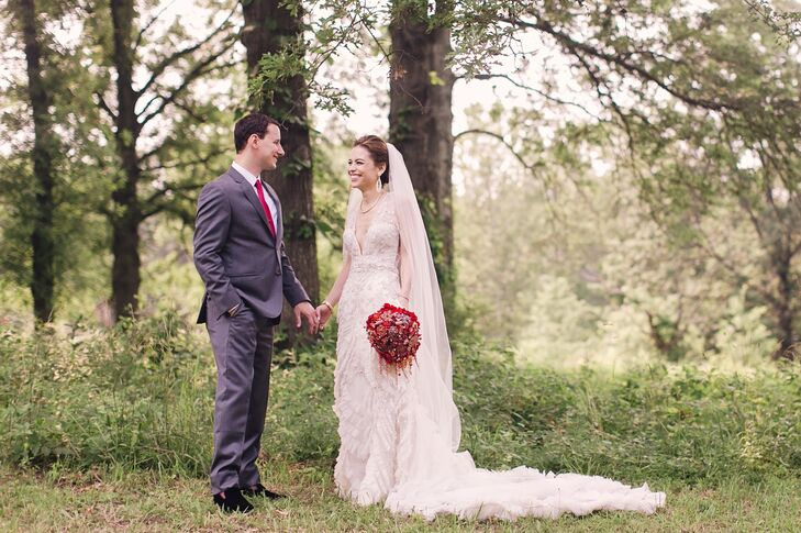 Nicole Shen (28 and an internal medicine resident physician) and Dan Mills (31 and a director of new business) met through a common friend on the July