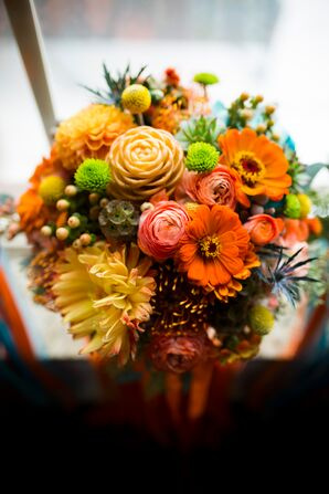 Colorful Orange Bouquet