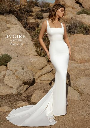 IVOIRE by KITTY CHEN DEMI,V2119 Sheath Wedding Dress