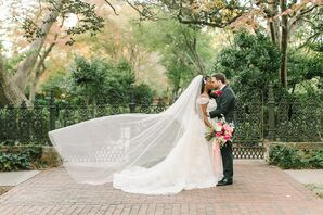 Whimsical Garden Wedding at The Lace House in Columbia, South Carolina