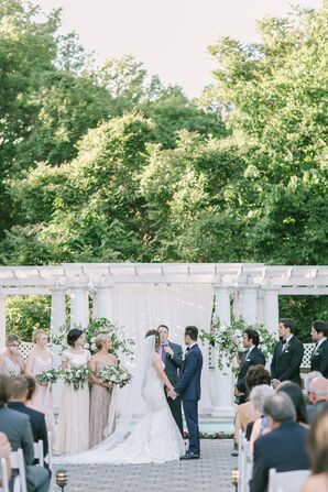 Outdoor Ceremony at Shadowbrook at Shrewsbury
