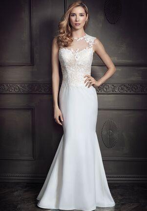 Kenneth Winston: Ella Rosa Collection BE337 Sheath Wedding Dress