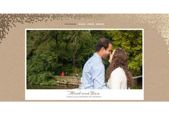 Ariel Dan Wedding Website Our Story