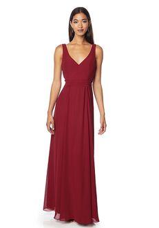 #LEVKOFF 7126 V-Neck Bridesmaid Dress
