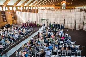 Irongate Equestrian Center Barn Ceremony Setup