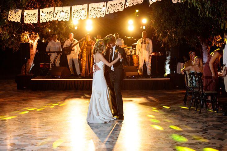 Papel Picado Dance Floor Canopy
