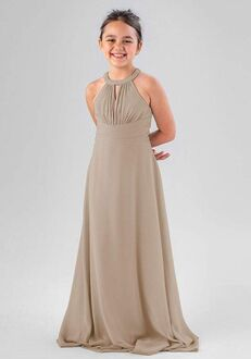 Kennedy Blue Lanie Halter Bridesmaid Dress