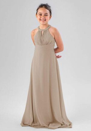 Kennedy Blue Lanie Halter Bridesmaid Dress
