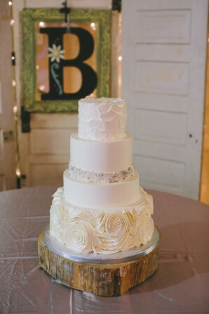 Wedding Cake With Four Flavors