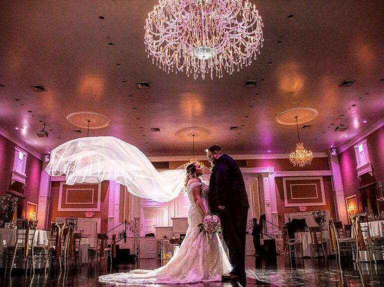 Barn wedding venue in Hamilton, New Jersey.