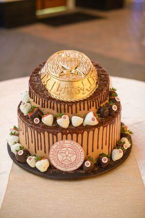 Texas A&M University Chocolate Groom's Cake