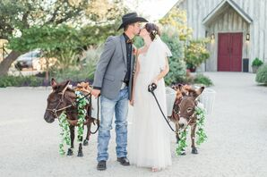 Classic Southern Couple with Beer Burros