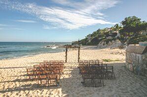 Natural Beach Wedding Ceremony